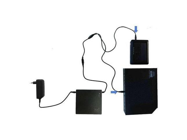 Batterie de secours pour Boîtier Fixe et Livebox