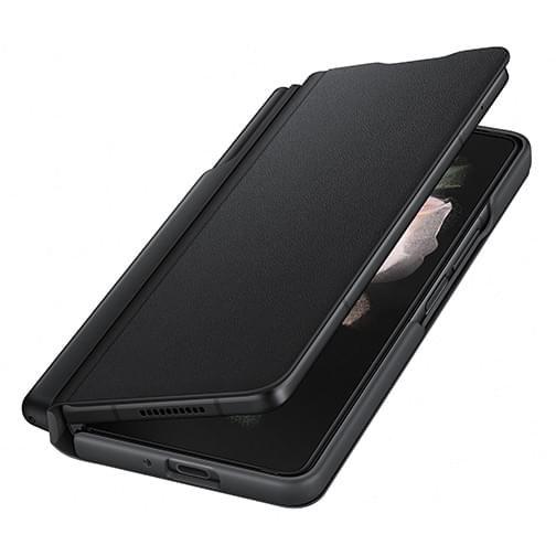 Pack Etui à rabat avec S Pen et chargeur secteur pour Samsung Galaxy Z Fold3