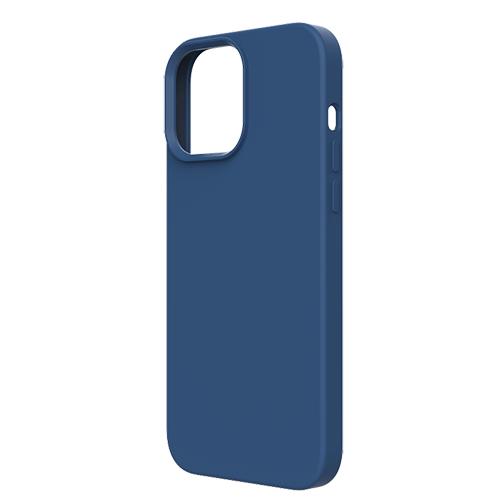 Coque Touch Pure compatible MagSafe pour iPhone 13 Pro Max Bleue