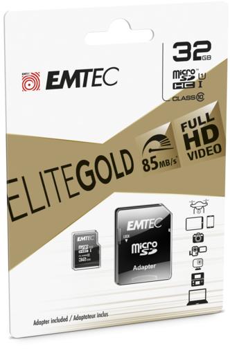 image1_Carte mémoire Micro SD Emtec 32 Go