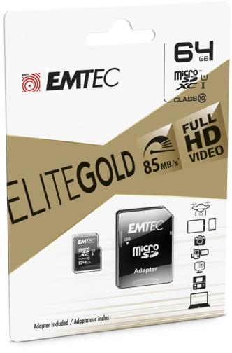 image1_Carte mémoire Micro SD Emtec 64 Go