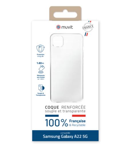 image1_Coque Transparente Made in France pour Samsung Galaxy A22 5G