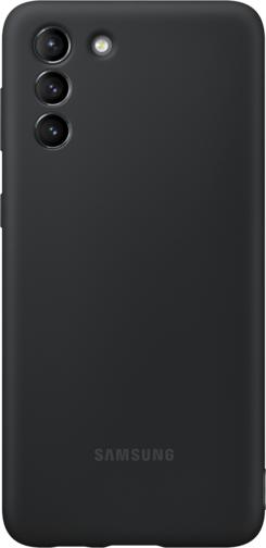 image2_Coque Silicone pour Samsung Galaxy S21 Plus Noire