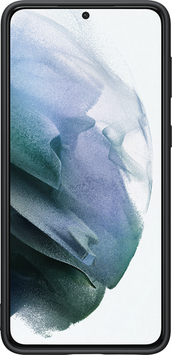 image1_Coque Silicone pour Samsung Galaxy S21 Plus Noire