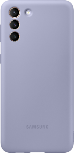 image2_Coque Silicone pour Samsung Galaxy S21 Plus Violette