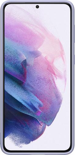 image1_Coque Silicone pour Samsung Galaxy S21 Plus Violette