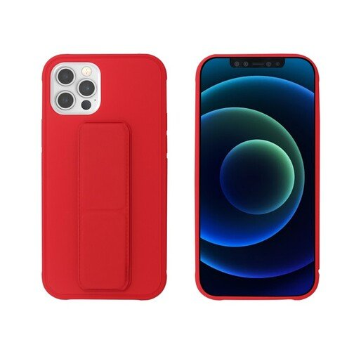 image1_Coque Stand My Way pour iPhone 12 et 12 Pro Rouge