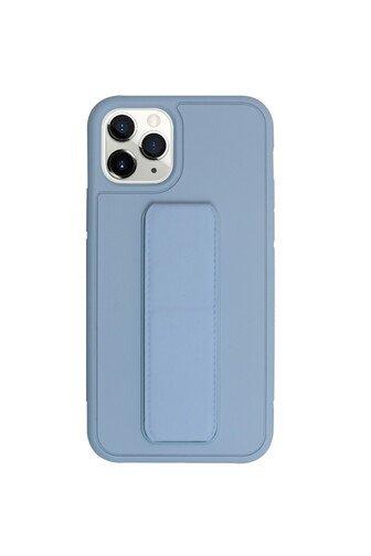 image3_Coque Stand My Way pour iPhone 12 et 12 Pro Bleu Ciel
