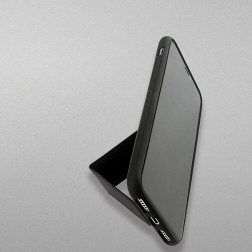 image2_Coque Stand My Way pour iPhone 12 et 12 Pro Noire