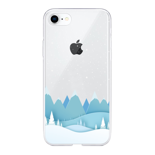 image1_Coque Winter iPhone 11 Montagne Neige