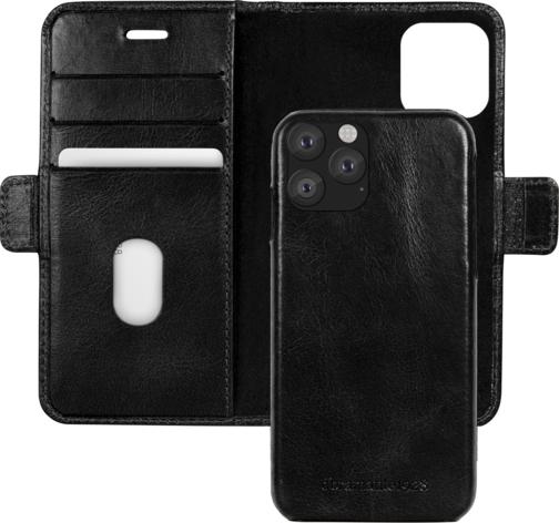 image2_Etui à rabat Lynge pour iPhone 11 Pro Noir
