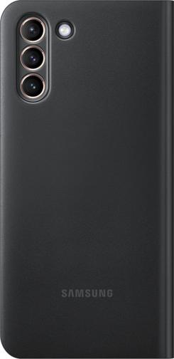 image3_Etui à rabat Led View Samsung Galaxy S21 Plus Noir