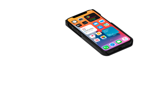 image6_Etui à rabat Lynge pour iPhone 12 mini
