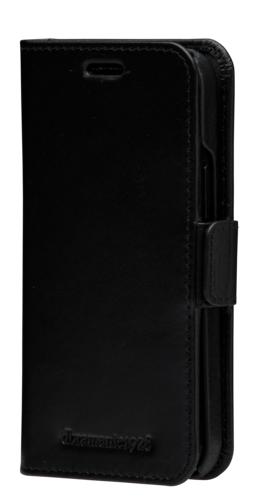 Etui à rabat en cuir Lynge pour iPhone 12 mini
