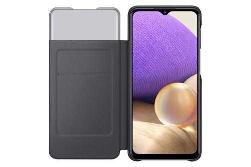 image4_Etui à rabat S View pour Samsung Galaxy A32 5G Noir
