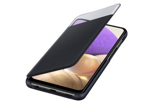 image3_Etui à rabat S View pour Samsung Galaxy A32 5G Noir