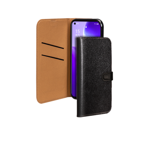 image1_Etui à rabat Wallet pour Oppo Find X3 Lite Noir