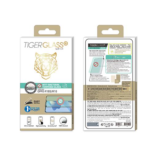 Film de Protection Tiger Glass+ pour Oppo A16s