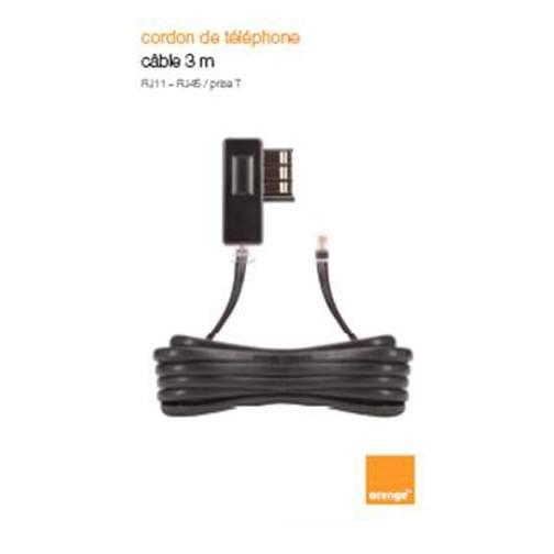 image1_Cordon de téléphone 3m noir