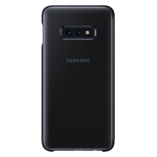 image4_Étui à rabat Clear View Samsung Galaxy S10e Noir
