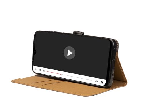 image4_Etui à rabat Wallet Noir pour Xiaomi Redmi 9C Noir