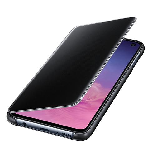 image1_Étui à rabat Clear View Samsung Galaxy S10e Noir