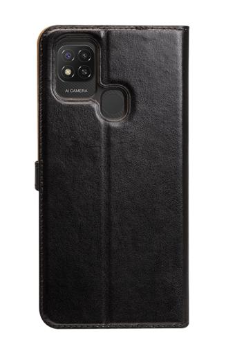 image2_Etui à rabat Wallet Noir pour Xiaomi Redmi 9C Noir