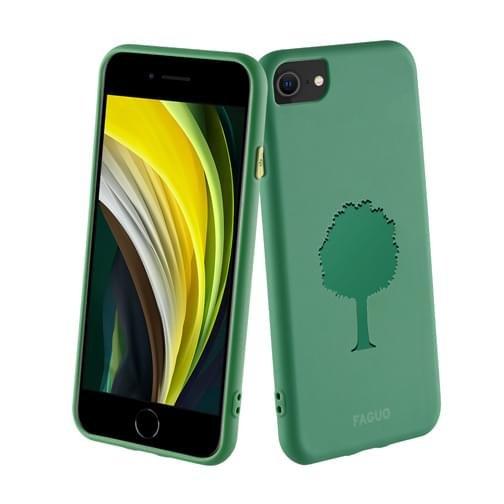 Coque Faguo pour iPhone SE 2020 Verte