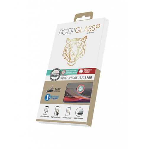 Film de Protection Tiger Glass+ Privacy iPhone 13 & 13 Pro