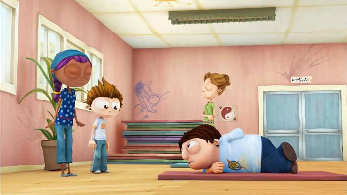 026. Maman fait du yoga