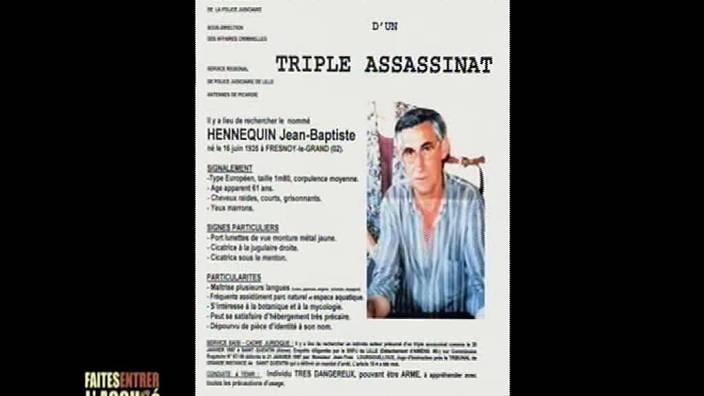111. Jean-Baptiste Hennequin, triple meurtre
