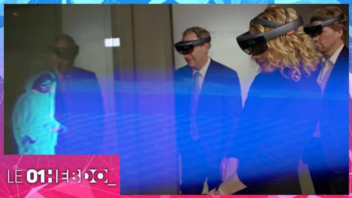 #314 HoloLens, l'hologramme partagé