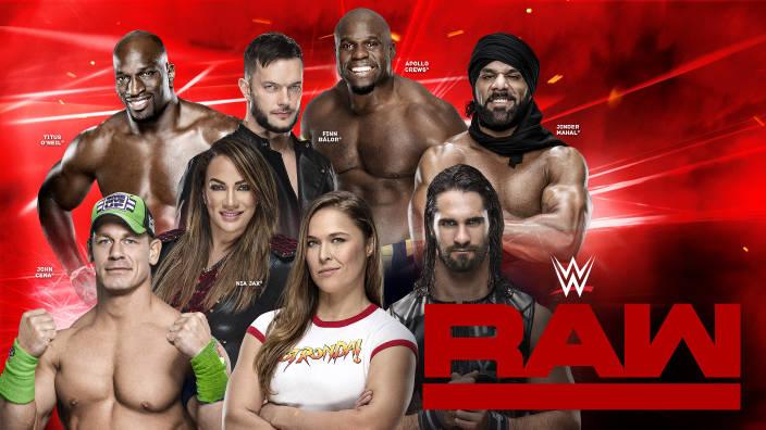 Image du programme Catch américain Raw - 11/07