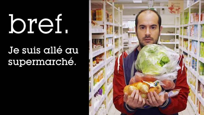 021. Bref, je suis allé au supermarché