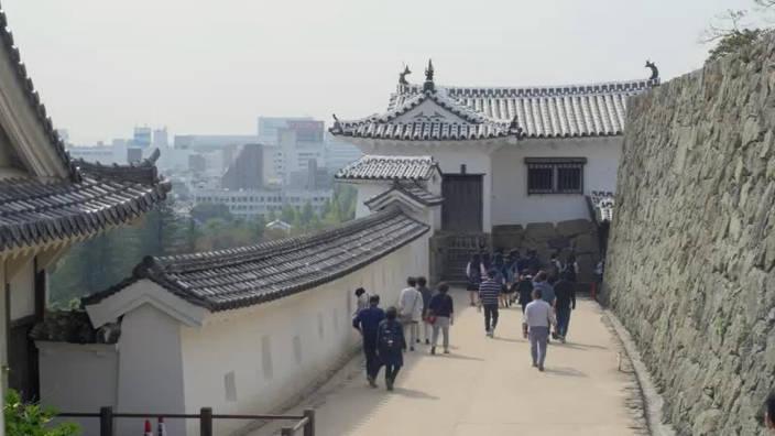 69. La Ville d'Himeji et son Château