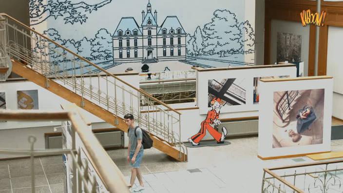 Visite au Musée de la BD de Bruxelles