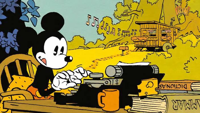 Mickey vu par...