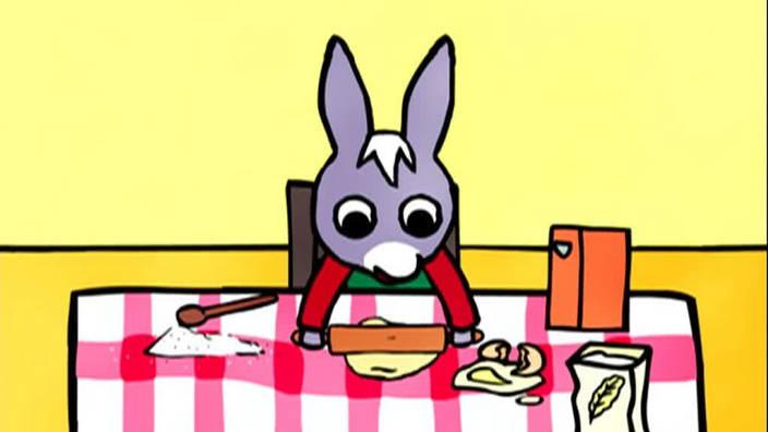 028. Trotro fait un gâteau