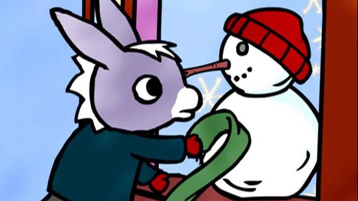 027. Trotro et le bonhomme de neige