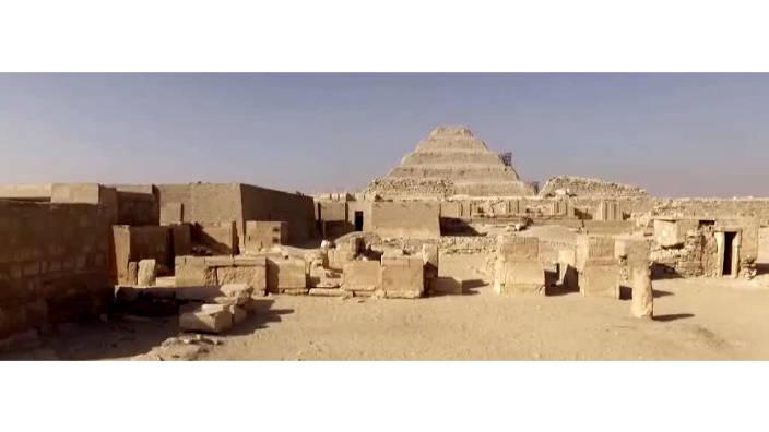 Les mysteres de saqqara