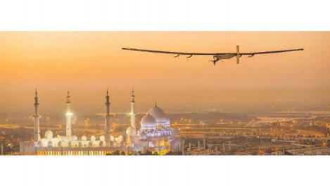 Solar impulse : le vol pe
