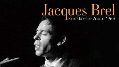 Jacques Brel à Knokke-le-Zoute, 1963