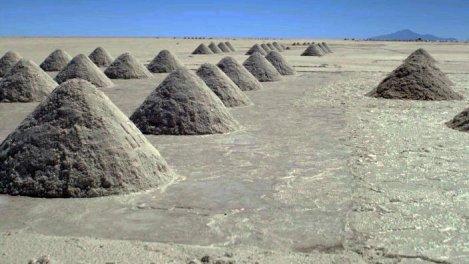 Bolivie, le salar d'Uyuni, désert de sel... et de