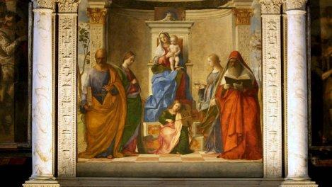 Bellini et Mantegna, peintres rivaux de la