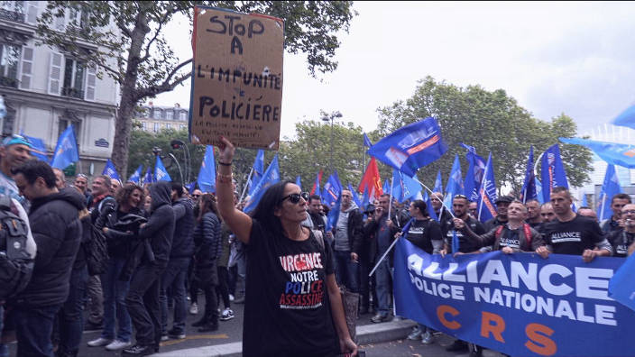 ARTE Regards - Police en France : les raisons du