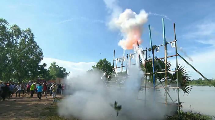 GEO Reportage - Thaïlande : des fusées pour les