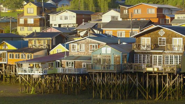 Chili, l'ile de Chiloé, le savoir-faire du bois