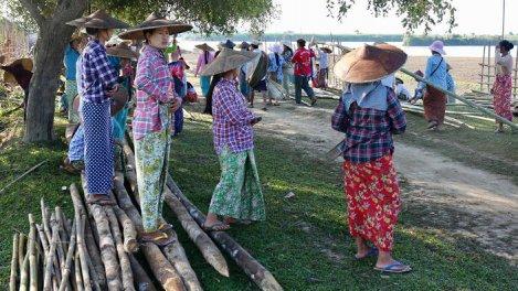 GEO Reportage - Birmanie : l'étonnant pont de