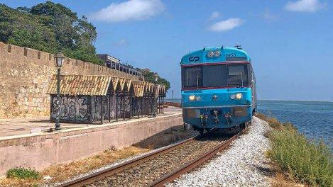 Un billet de train pour l'Algarve