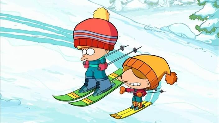 025. Au ski avec cousin Francis